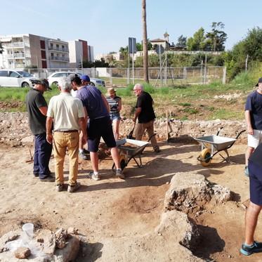 Campaña arqueológica 2019, yacimiento de Darró