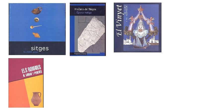 Libros de arqueologia Catalana, Sitges.j