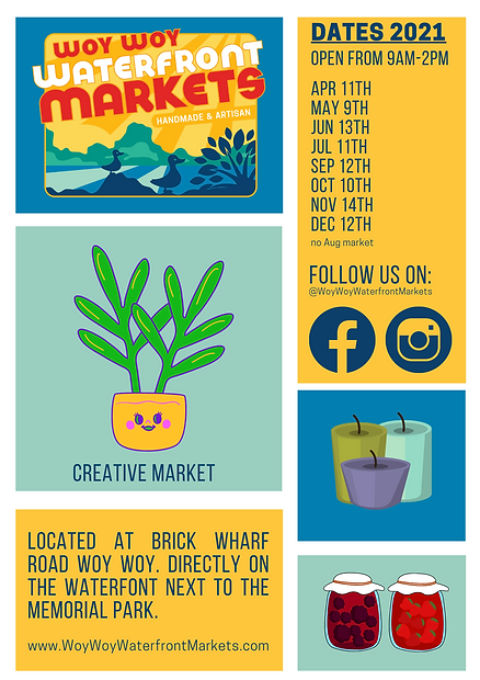 Woy Woy Waterfront Markets_ Flyer.png