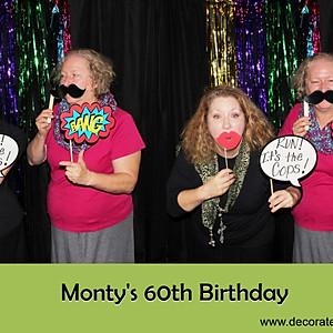 Monty's 60th Birthday Party