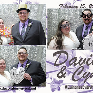 David & Cyndi Wedding