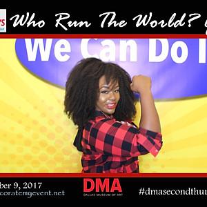 DMA Second Thursdays Who Run The World