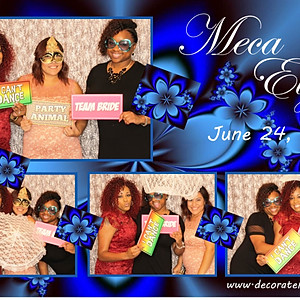 Meca & Elijah Wedding