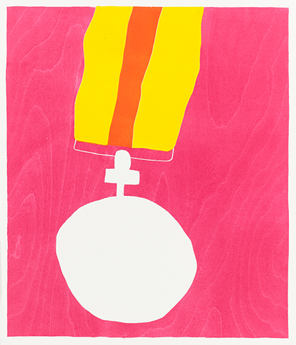 Medal red