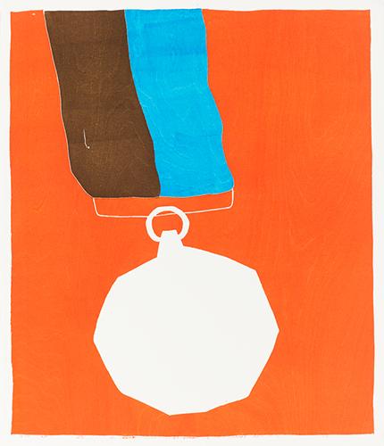 Medal orange