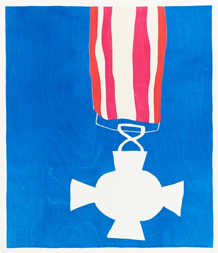 Medal Blue
