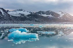 Shiny iceberg