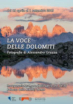 Mostra Fotografica La Voce delle Dolomiti