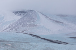 Mountains of the glacier