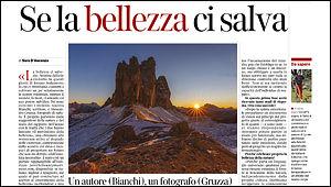 Articolo Corriere del Trentino