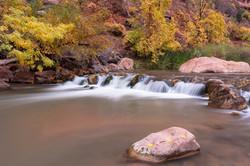 Virgin River in autumn dress