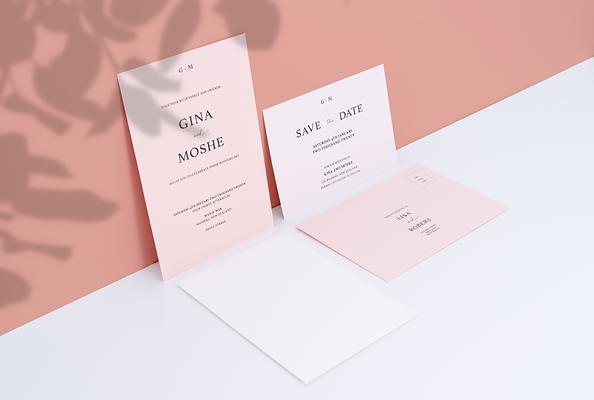 Rata invitation suite