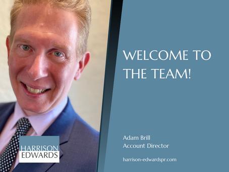Harrison Edwards PR & Marketing Welcomes Adam Brill As Account Director