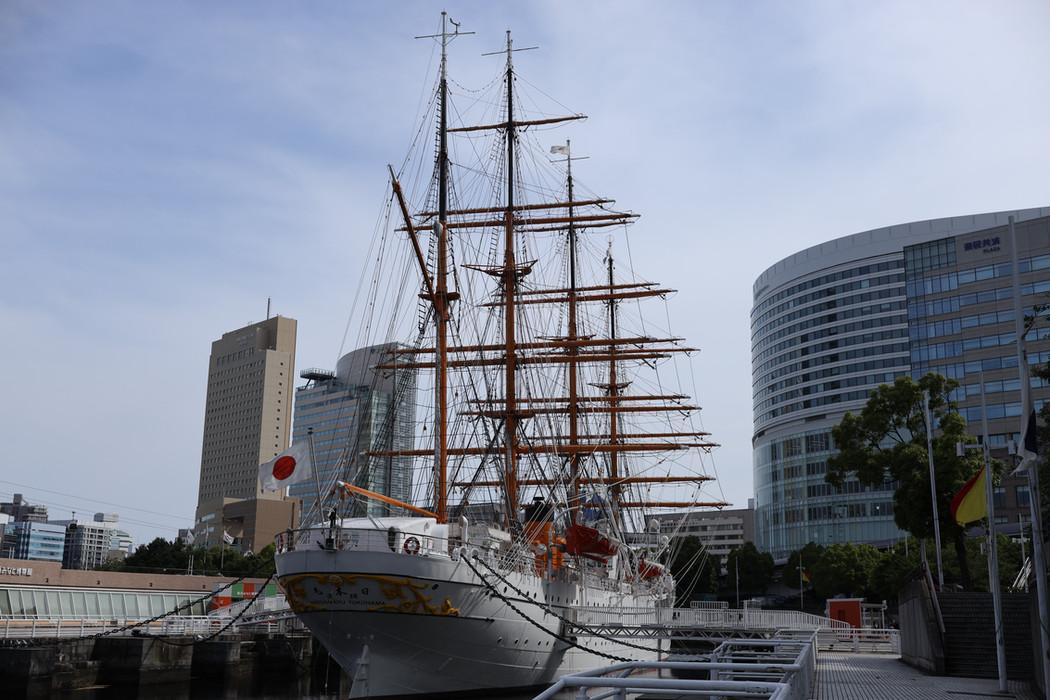 Nippon-maru, Yokohama