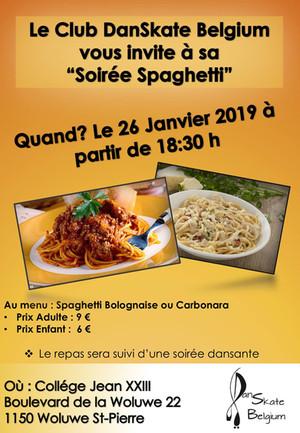 Soirée Spaghetti