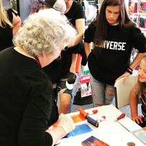 Printmaking Demo with Artist Barbara Mason
