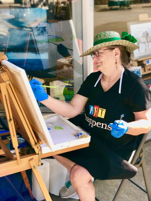 Artist Carole Thalman