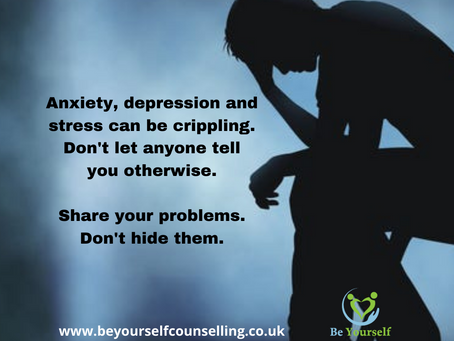 How Do You Deal With Your Stress, Anxiety Or Depression?