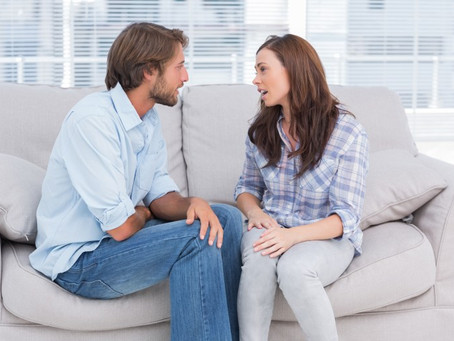 Couples Counselling - It's not about assigning blame.