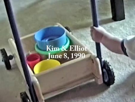 Kim and Elliot, June 8, 1990