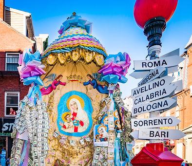 Madonna Della Cava Sunday Procession - A