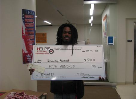 HELPIS Announces Latest Scholarship Recipient