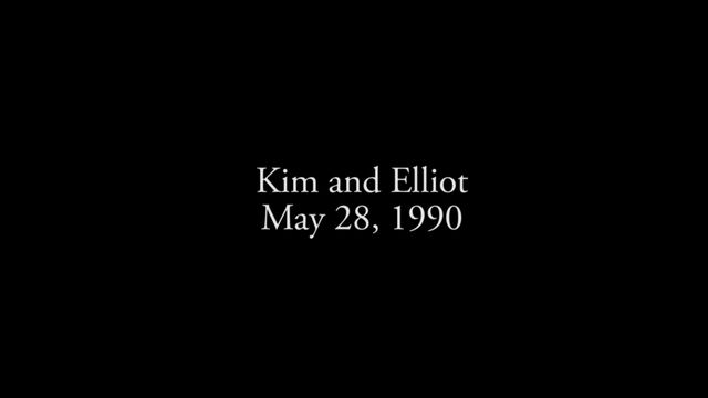 Kim and Elliot, May 28, 1990