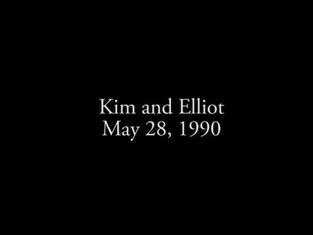 Kim and Elliot, May 28, 1990