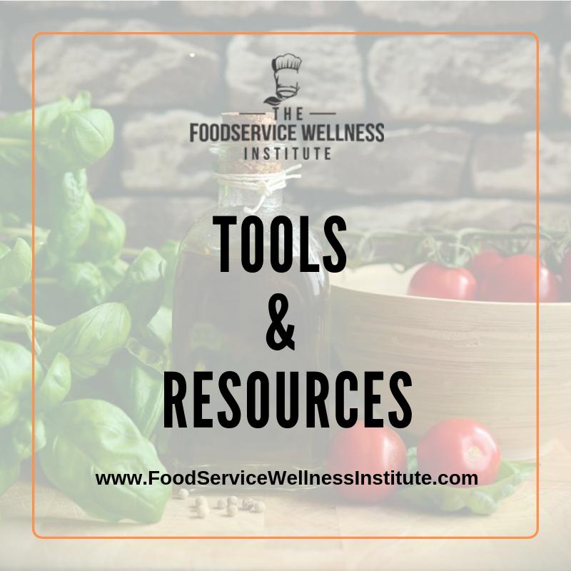 FoodserviceWellnessTools