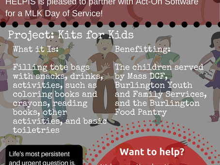 Martin Luther King, Jr. Day of Service with Act-On Software