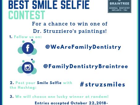 Enter for a Chance to Win a Struzziero Original Painting #StruzSmiles