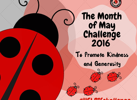 HELPIS Announces the Month of May Challenge to Promote Kindness and Generosity