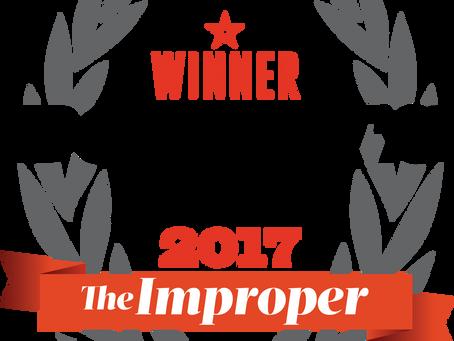 Threading 2017 Winner: Del Ara Salon - Improper Bostonian
