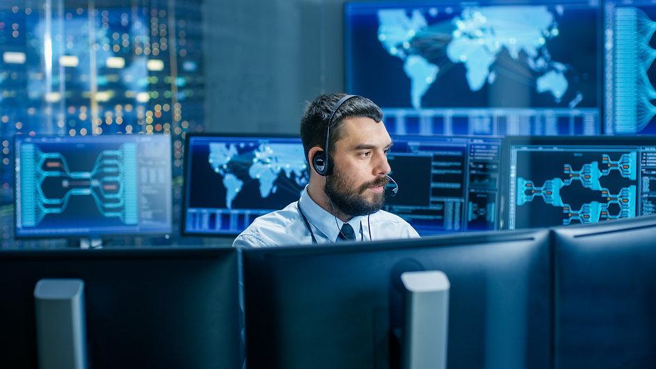 System Control Room Dispatcher Talks int
