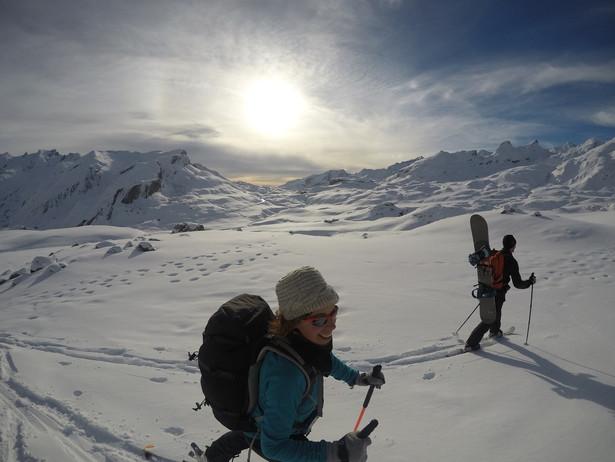 Esquí de montña