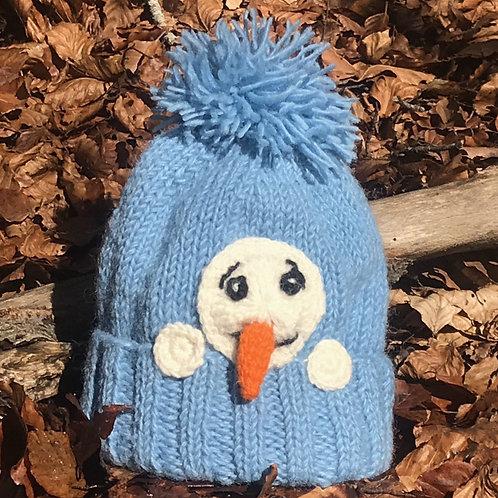 Muñeco de nieve escondido