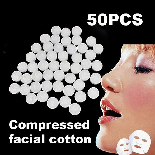 Facial Face Cotton Mask Compressed