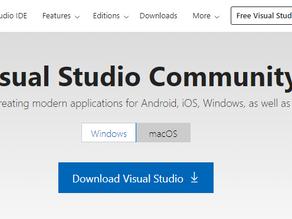 Getting Started - Install Visual Studio Community