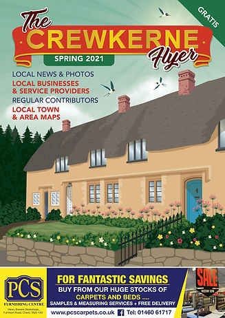 Crewkerne Flyer Spring 2021 - for advertisers and the people of Crewkerne cover.jpg