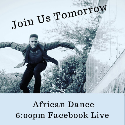 FB LIVE: African Dance Class by Izizwe Dance Studio