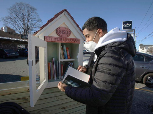 Little libraries create love of literacy Young people build first of several planned for Lawrence