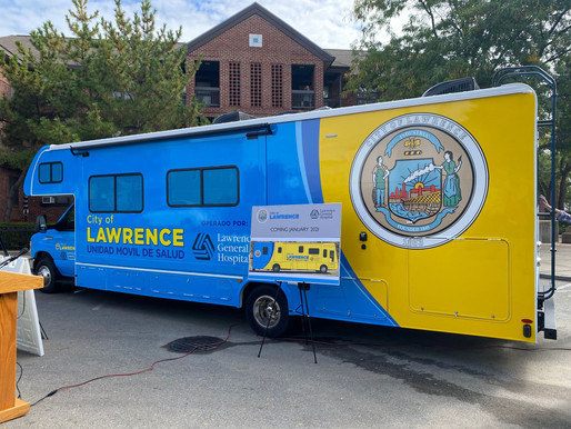Lawrence Mobilizes for More Testing $255K for Mobile Health Unit
