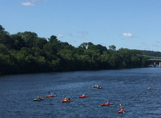 DiZoglio, Vargas Among 'Valley Voyagers' to Complete 4-Day Paddle to Raise Merrimack River Awareness