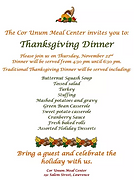 Thanksgiving Dinner - Cor Unum.PNG