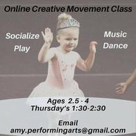 Online Creative Movement Class by Izizwe Dance Studio