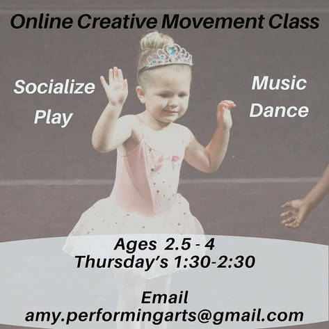 Online Creative Movement Class by Izizwe Dance Studio