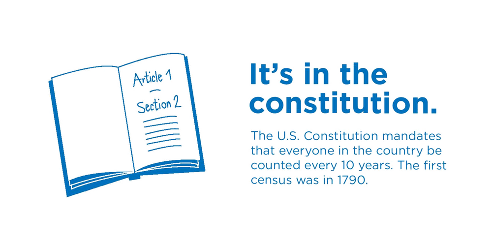 It's in the Constitution