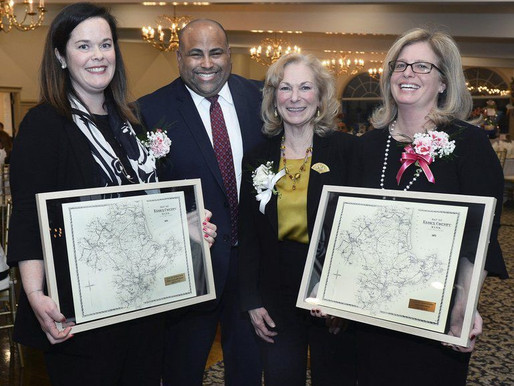 Leaders of Essex County Community Foundation honored for helping gas crisis victims
