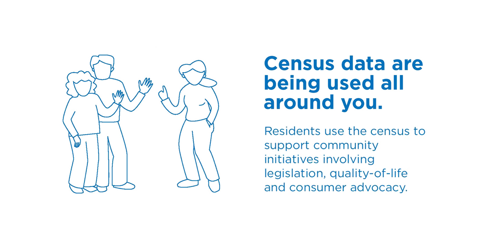 Census data are being used all around you