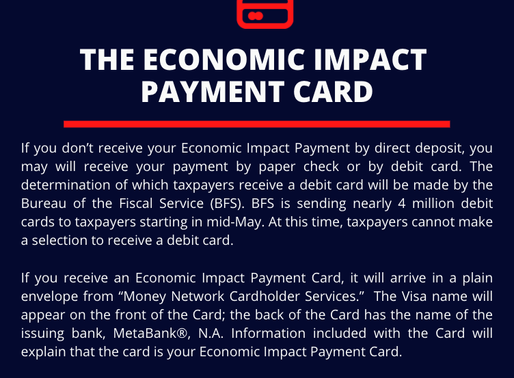 The Economic Impact Payment Card